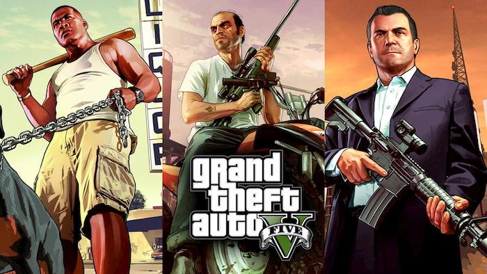 Game xoay quanh ba nhân vật tội phạm với cốt truyện liên kết
