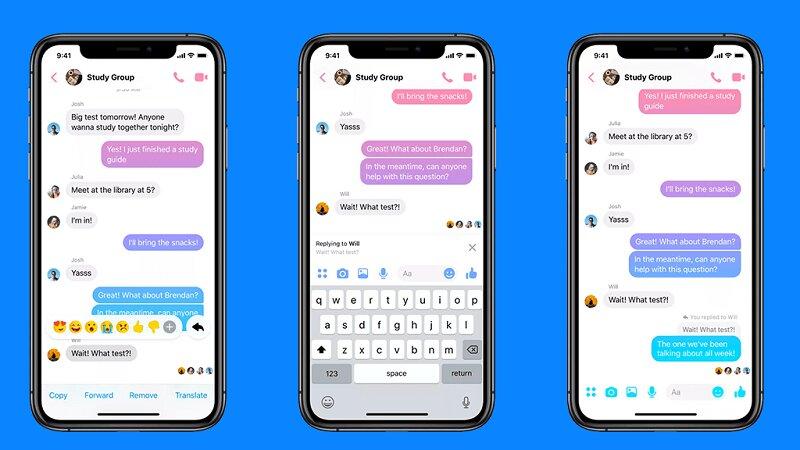 Người dùng có thể thoải mái nhắn tin mà không mất phí