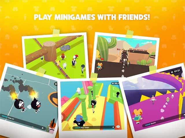 """Nhiều minigame hấp dẫn để bạn có thể trải nghiệm cùng """"cạ cứng"""""""