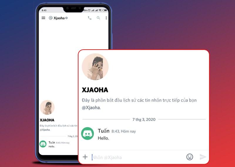 Phần mềm hỗ trợ cả chat cộng đồng lẫn riêng tư