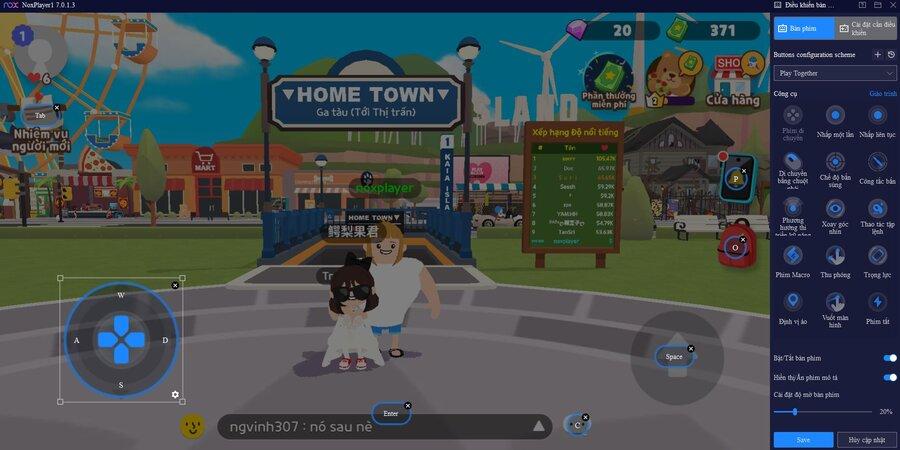 Người chơi cũng có thể thưởng thức game thông qua trình giả lập